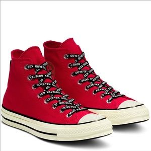 Converse CTAS 70 HI Gore-Tex Canvas High Top Red
